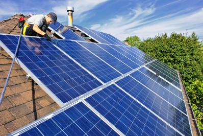 Installing solar PV on roof