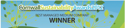 Cornwall Sustainability Awards - Winner 2012