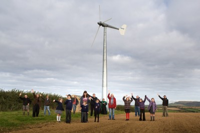 Ladock community turbine