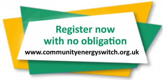 Register with Community Energy Switch now